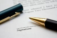 Mod�le : la lettre d'engagement