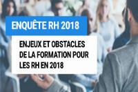 La Formation vue par les RH en 2018