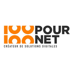 Logo 100 % Net