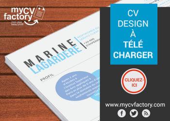 Modèles de CV à télécharger